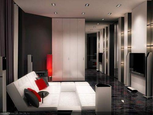 Проект дизайна интерьера квартиры от Flatt studio