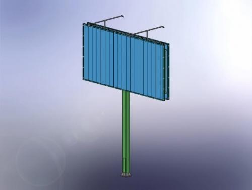 Проект рекламного щита