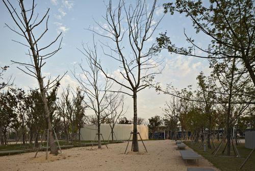 Спиральная галерея в городе Шанхай