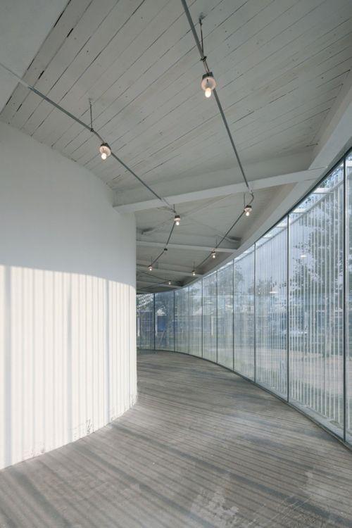 Спиральная галерея в Китае