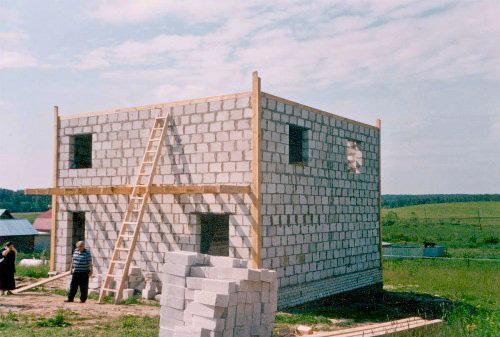 Строительство коробки дома
