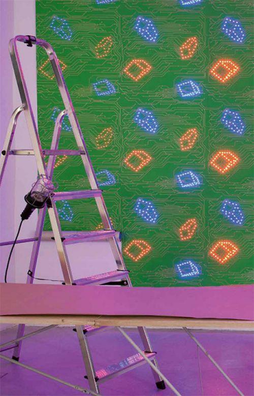 Ультра-современные светодиодные обои