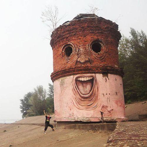 Башня с лицом