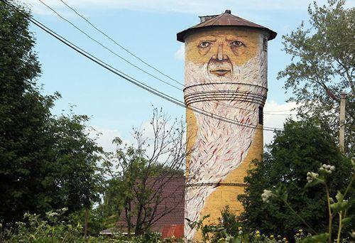 Живая водопроводная башня