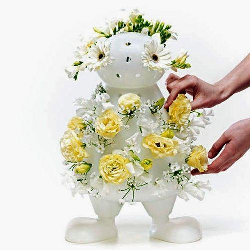 Оригинальная ваза для цветов Bloom My Buddy