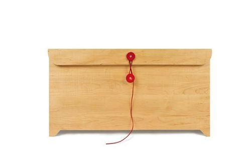 Деревянный комод-конверт Envelope Chest