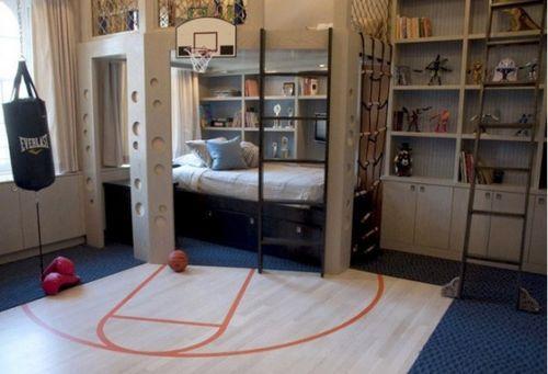 Двохуровневая комната для детей