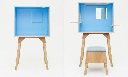 Koloro-desk от архитектурной студии Torafu Architects