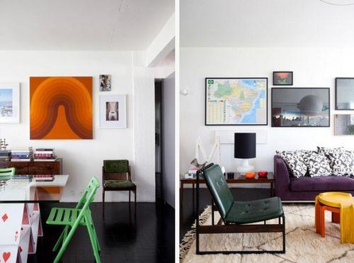 Светлый дизайн интерьера квартиры