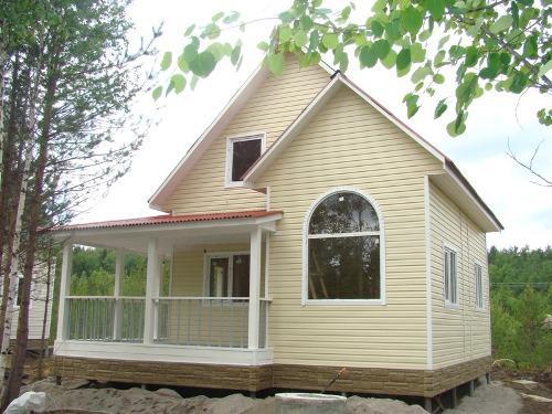 Как отделать дом сайдингом?