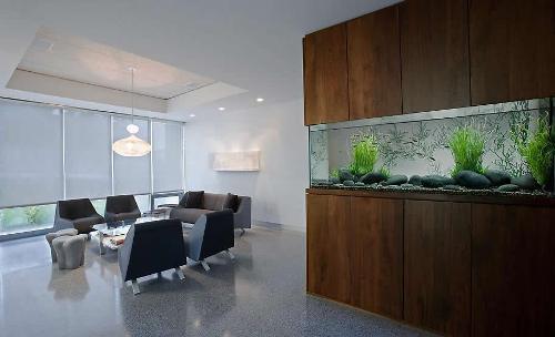 Как правильно разместить аквариум?