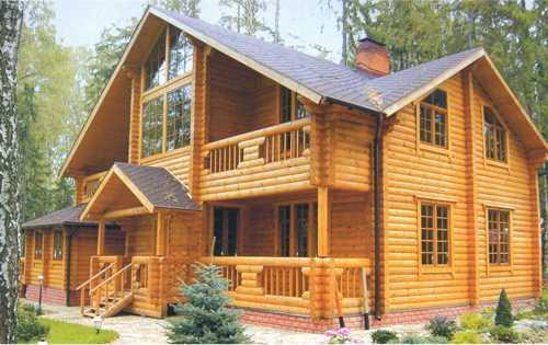Как сохранить красоту деревянного дома?