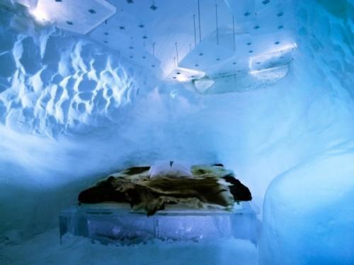 Ледяной интерьер