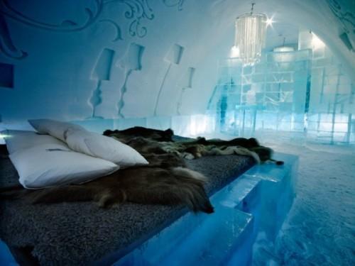 Ледяной номер в отеле
