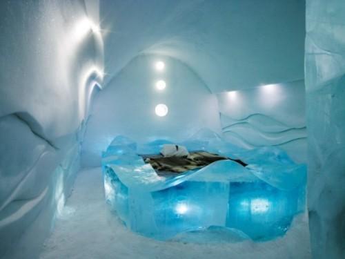 Icehotel – ледяной отель в Швеции