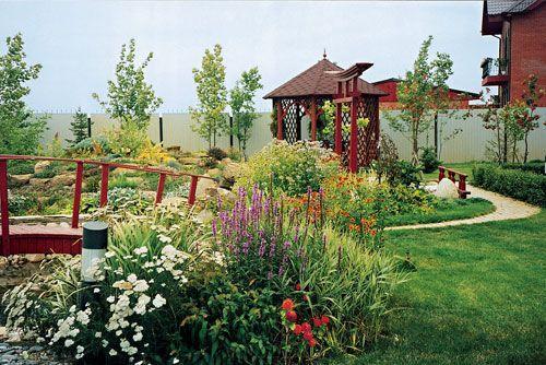 Место для садовой беседки - почему это важно!