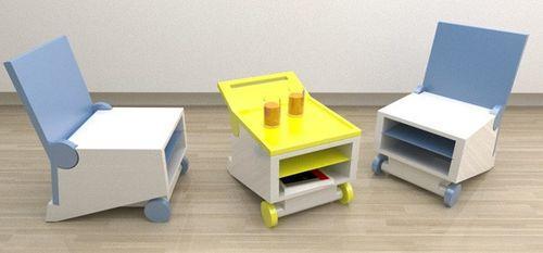 Многофункциональный складной стул Flippo chair