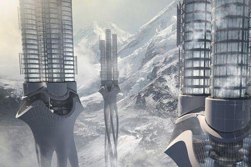 Himalaya Water Towers