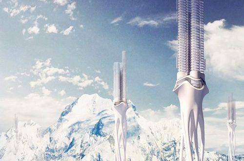 Небоскребы Himalaya Water Towers