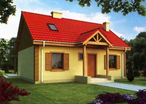 Проект дома 136 м2