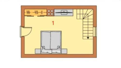 Проект гостевого дома с сауной
