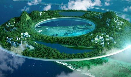 Проект летающих городов Heaven and Earth