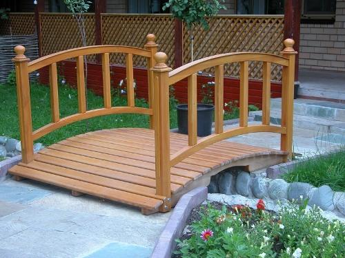 Садовый мостик своими руками