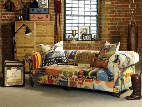 Стильная мебель Vintage Sofa и Trunk Duo