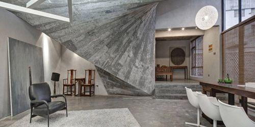 Tea House and library – сказочный дом-пещера