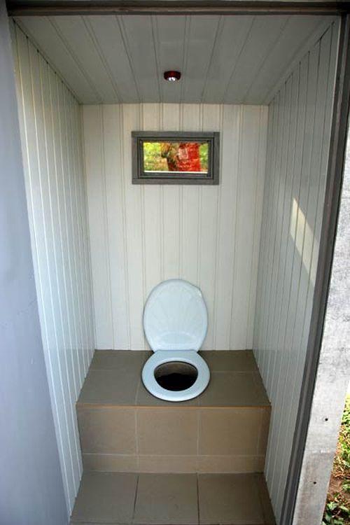 Обшиваем внутри туалет вагонкой