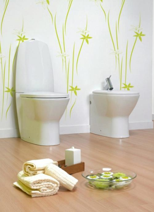 Spring Bath Decor