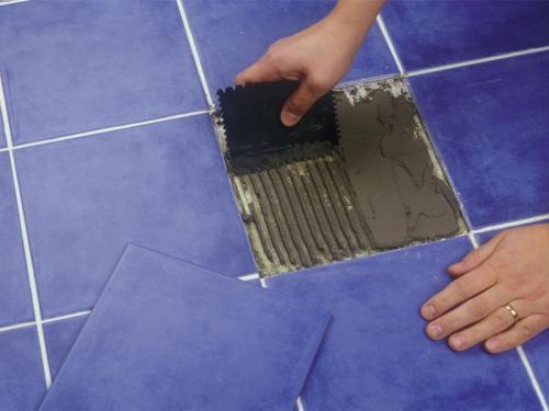 Как заменить треснутую плитку