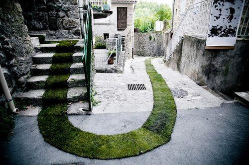 Зеленая дорожка Tapis Rouge