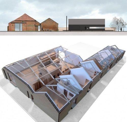 Реконструкция сарая в дом
