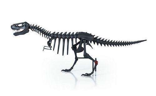 Батарея-динозавр Teplosaurus для украшения и обогрева