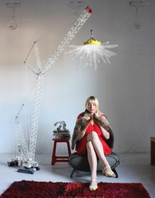 Светильник Crane Light от Charlie Davidson