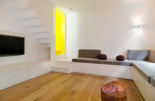 Квартира Stair Case Study House 01