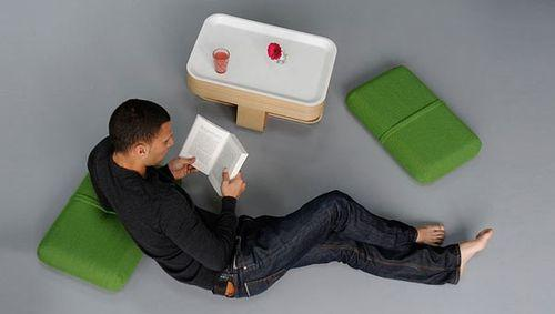 Mister T, многофункциональная мебель-трансформер от Antoine Lesur