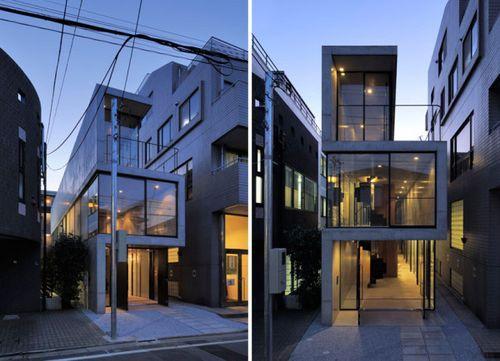 Необычный домик в Токио