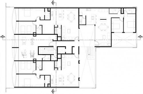 План здания Kiral в Мехико