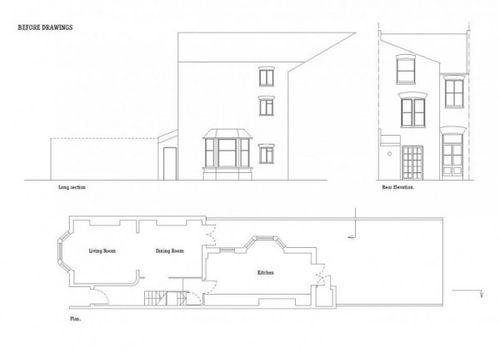Проект расширения дома в Лондоне