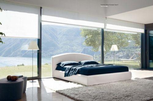 Шикарная белая кровать
