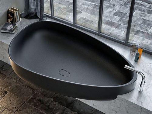 Современный дизайн ванны от итальянских дизайнеров