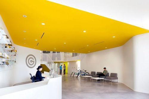 Создание офиса в помещении кинотеатра