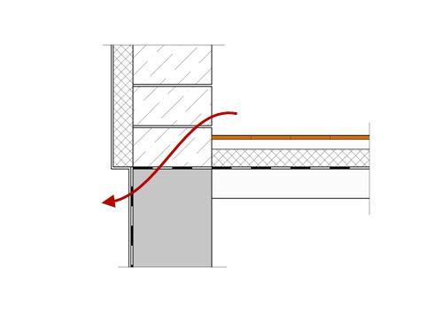 Стены фундамента без утепления