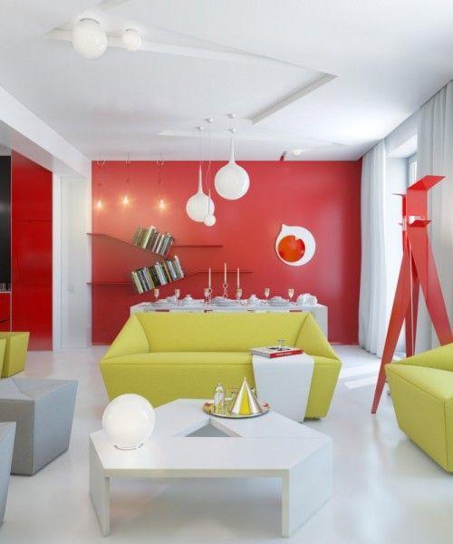 Яркий интерьер квартиры от Анны Мариненко