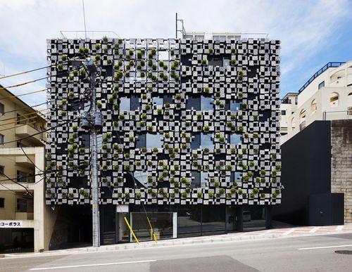 Зеленый дом от архитектора Кенго Кумы