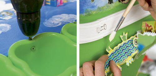 Столик для детской комнаты своими руками