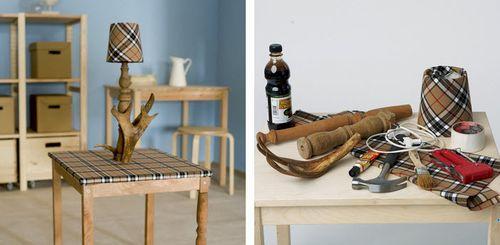 Столик в охотничьем стиле