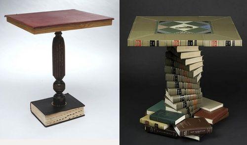 Дизайнерская мебель из книг Second Editions